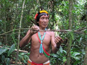 Amasina, a Trio shaman in Suriname and co-author on the Journal of Ethnobiology and Ethnomedicine paper. Photo courtesy of the Amazon Conservation Team.